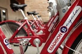 Madison Red Bikes