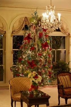 Govern's Mansion Christmas Tree