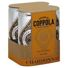 Francis F Coppola Chardonnay in a Can